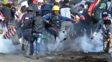 Bolivia crisis: