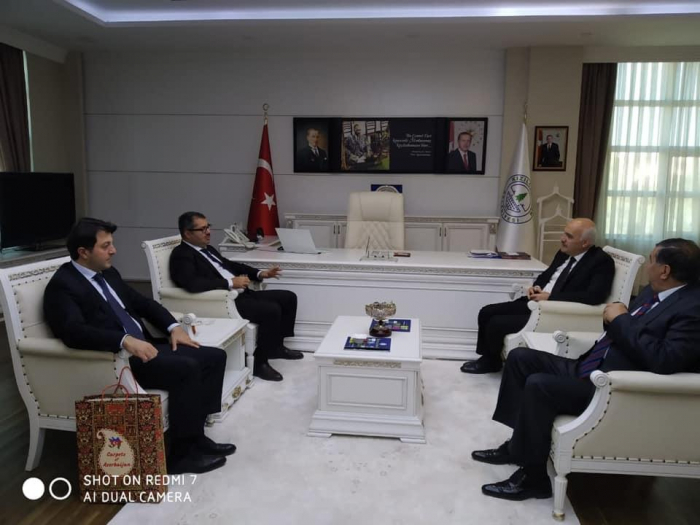 Delegation of Azerbaijani community of Karabakh region holds meetings in Ankara