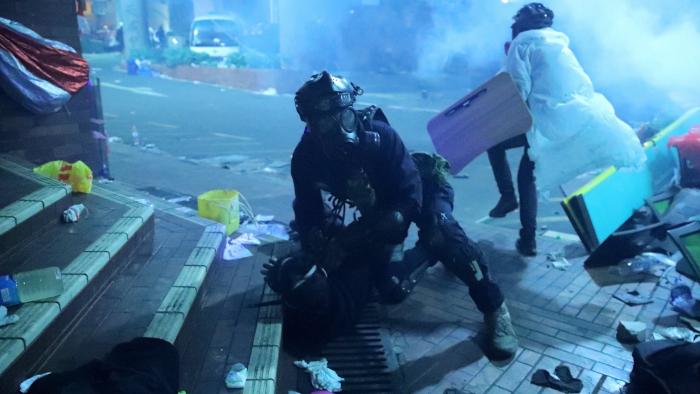 Lage in Hongkong eskaliert erneut