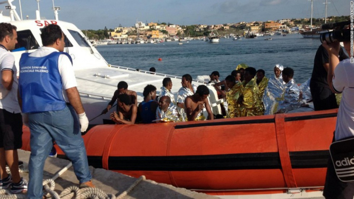 7 migrants killed and 149 rescued near Italy's Lampedusa island