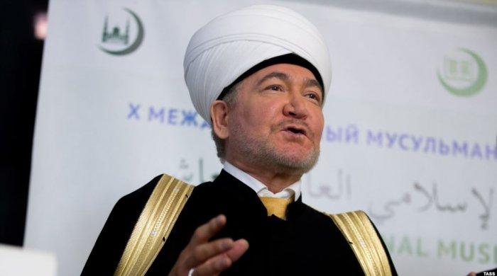Rusiya Müftilər Şurasının sədri İlham Əliyevə təşəkkür edib