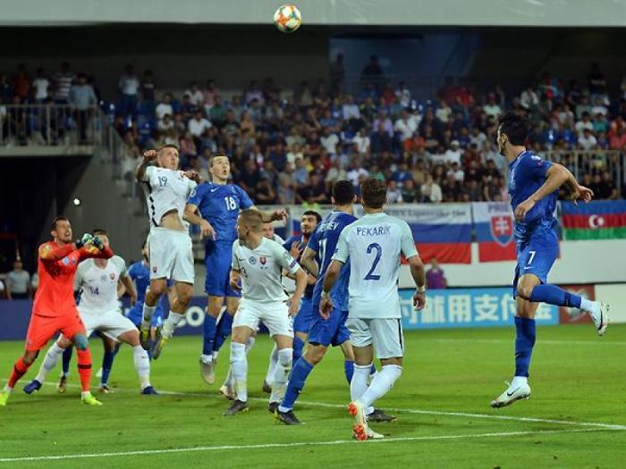 Millimiz son oyunda Slovakiyaya qarşı