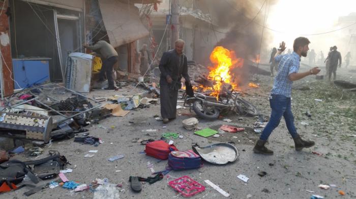 Suriyada terror aktı törədilib, 13 nəfər ölüb