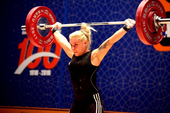 Une haltérophile azerbaïdjanaise remporte un tournoi international en Biélorussie