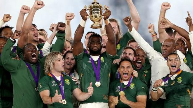 South Africa crush England in World Cup final