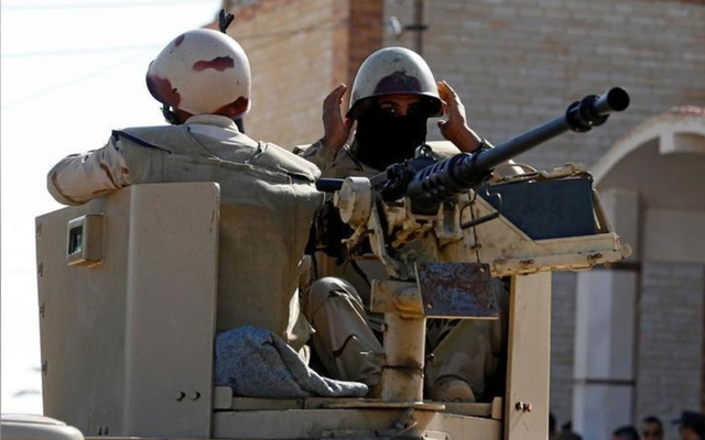 Egypt forces say they kill 83 militants in Sinai