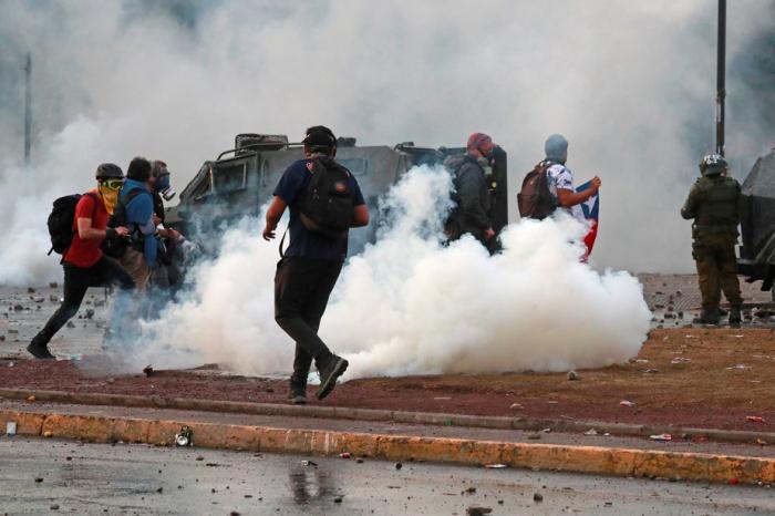 Chili:  affrontements entre forces de l