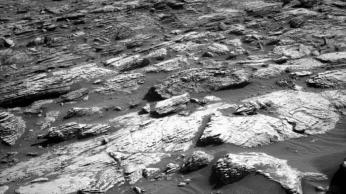 NASA     muestra un paisaje rocoso de Marte en nuevas imágenes