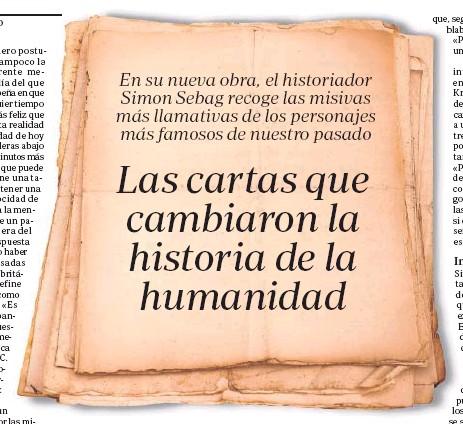 Las cartas que cambiaron la historia de la humanidad