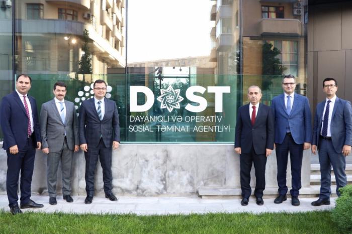 Türkiyə nümayəndə heyəti DOST Agentliyində - FOTO
