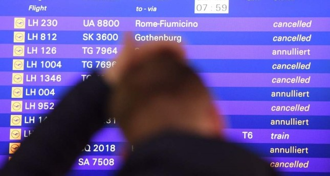Lufthansa cancels 1,300 flights over two-day German strike