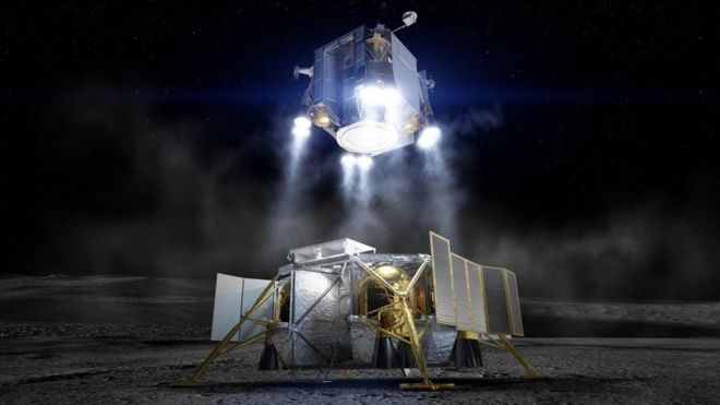 Boeing aims for Moon landing in