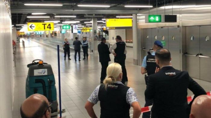 Alerta de secuestro en un vuelo Ámsterdam-Madrid desata caos