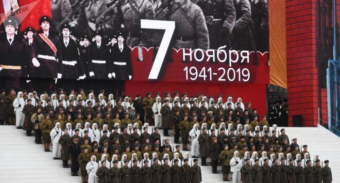 Moscú celebra el 78 aniversario del legendario desfile militar de 1941