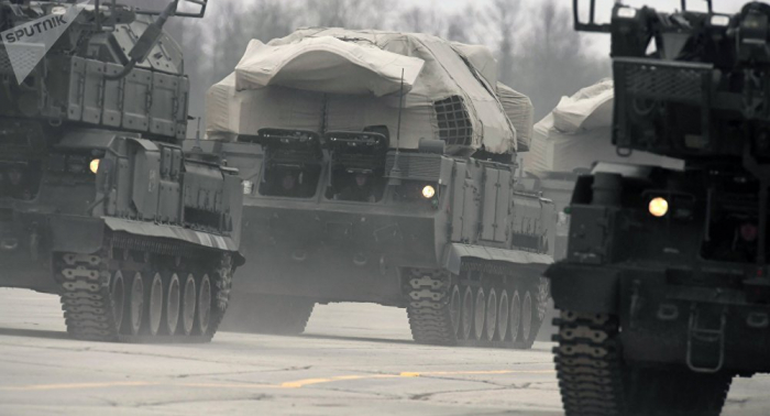 """""""Buk"""" und """"Tor"""" in Aktion: Manöver von Russland und Ägypten auf Video eingefangen"""