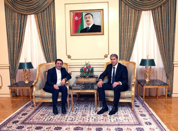 Vilayat Eyvazov se reúne con el embajador iraní