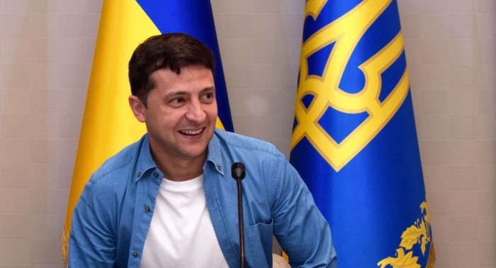 Selenski gesteht Probleme mit ukrainischer Sprache ein