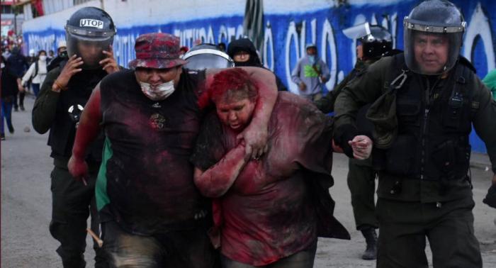 Vídeo  : el brutal secuestro de una alcaldesa boliviana que apoya a Evo Morales