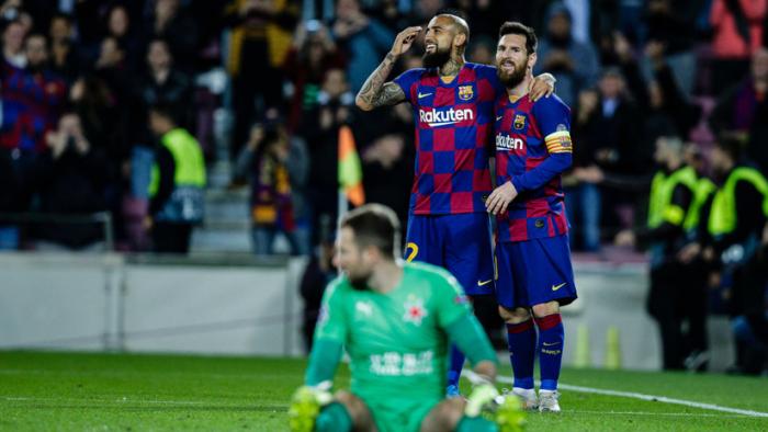 Fuerte acusación contra Messi y el FC Barcelona tras su empate contra el Slavia de Praga