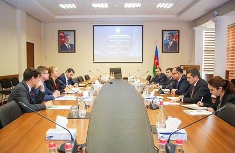Mantenido un encuentro con la delegación de la Embajada de EEUU ante Azerbaiyán