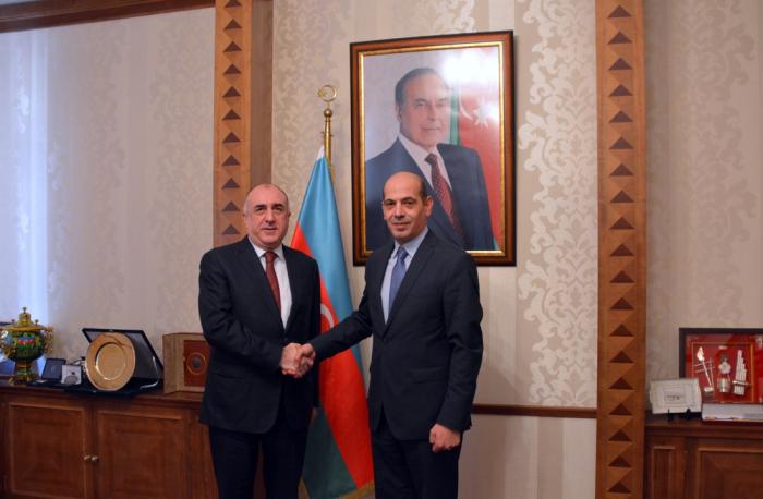 Außenminister Mammadyarov trifft neu ernannten Botschafter von Jordanien