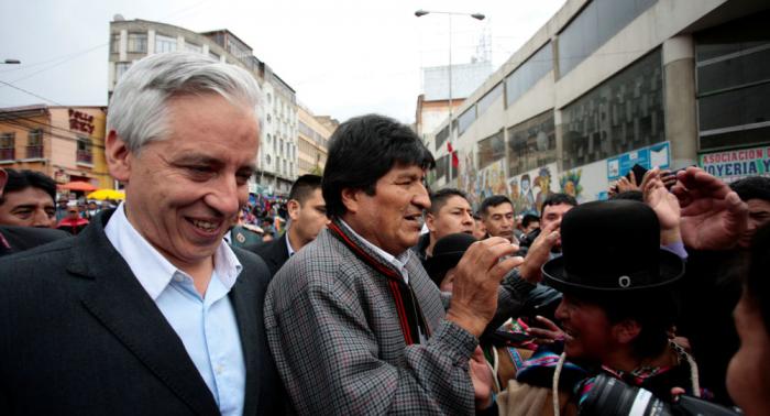 Vicepresidente boliviano: Evo Morales no renunciará