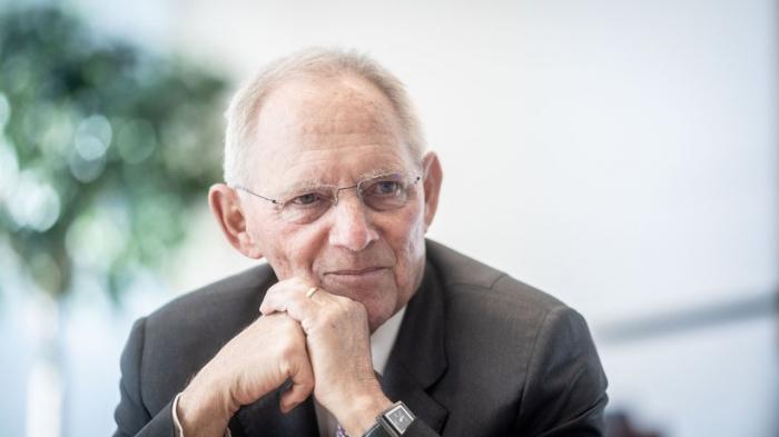 Schäuble hält Bild von Spaltung in Ost und West für überzeichnet
