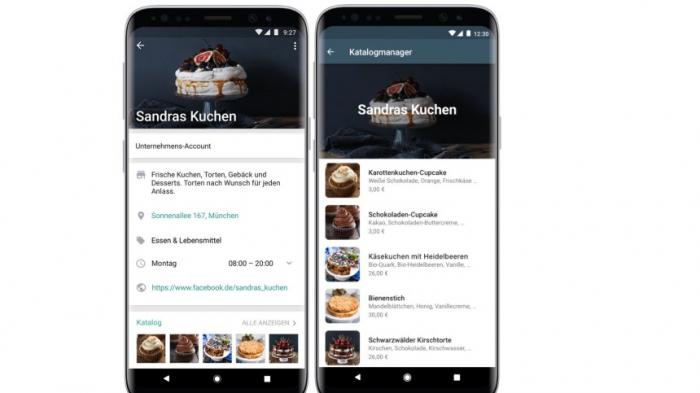 WhatsApp will ein digitales Schaufenster sein