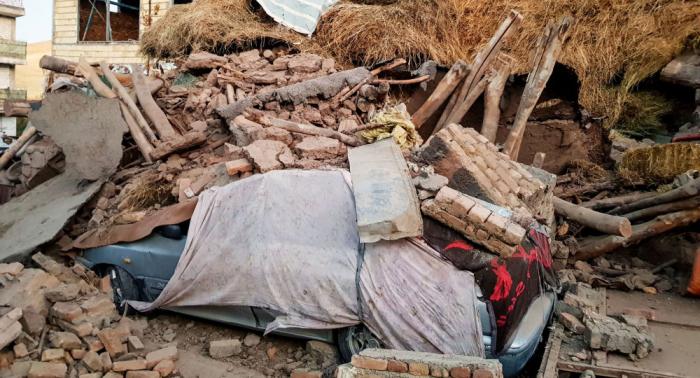 Más de 520 heridos por el terremoto en Irán
