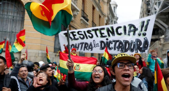 """Golpe de Estado en marcha en Bolivia """"es una amenaza para la región"""""""