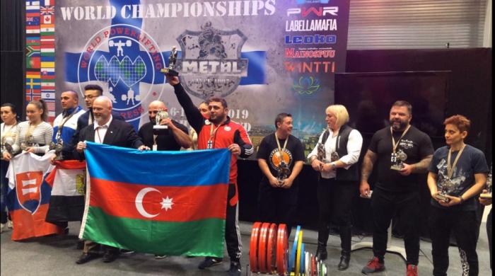 Azərbaycan idmançısı 5-ci dəfə dünya çempionu oldu