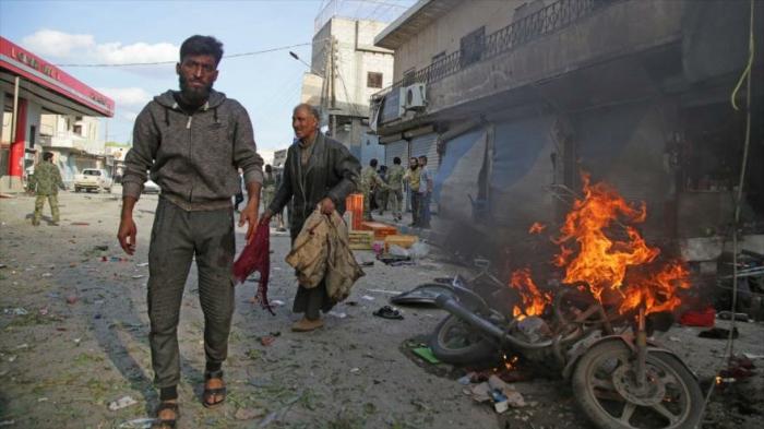 Atentado deja 8 muertos y 20 heridos en Siria