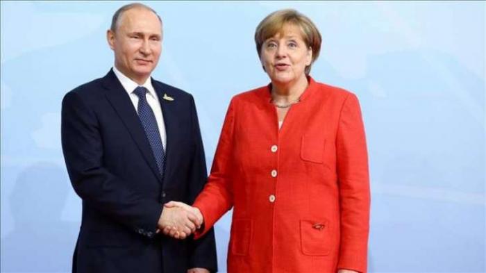 Putin, Merkel discuss settlement of Ukrainian conflict, Libya and Syria