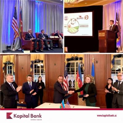 """""""Kapital Bank"""" növbəti beynəlxalq foruma qatılıb"""