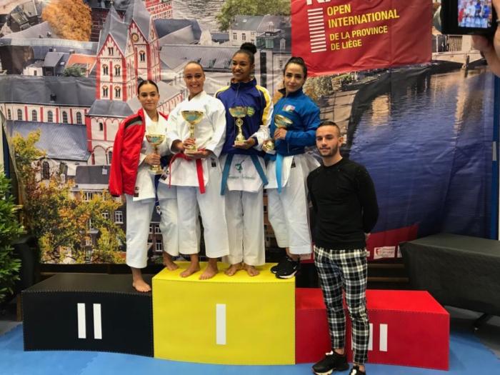 Karatecas azerbaiyanas conquistan dos medallas en el torneo celebrado en Bélgica