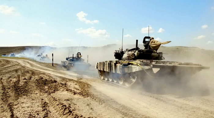 Azerbaijani army launches operational exercises - VIDEO