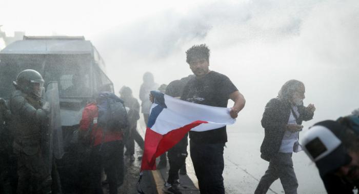 Unruhen in Chile:   Präsident schlägt Drei-Punkte-Plan vor