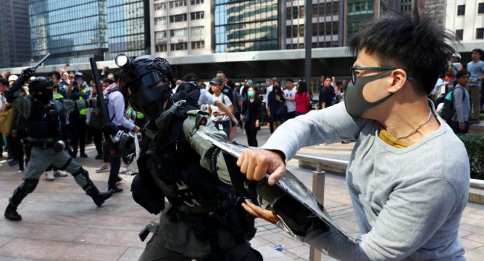 Protestas en Hong Kong Colegios de Hong Kong cancelan clases por protestas