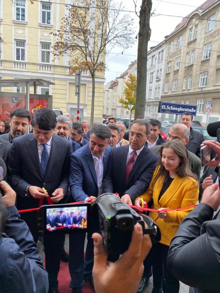Abren la Oficina del Círculo de Hombres de Cultura y de Negocios Austria-Azerbaiyán en Viena