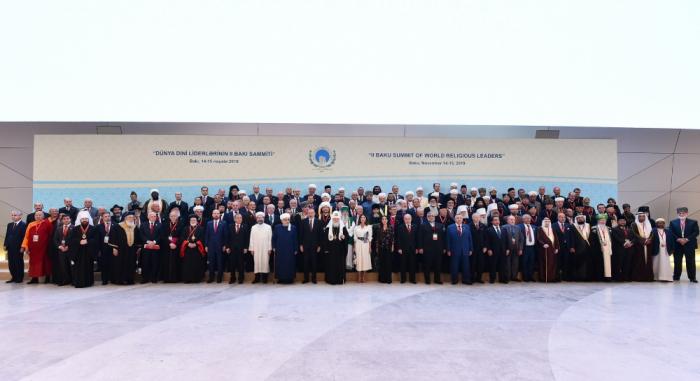 Déclaration de Bakou adoptée sur les résultats du 2e Sommetmondial desleaders religieux