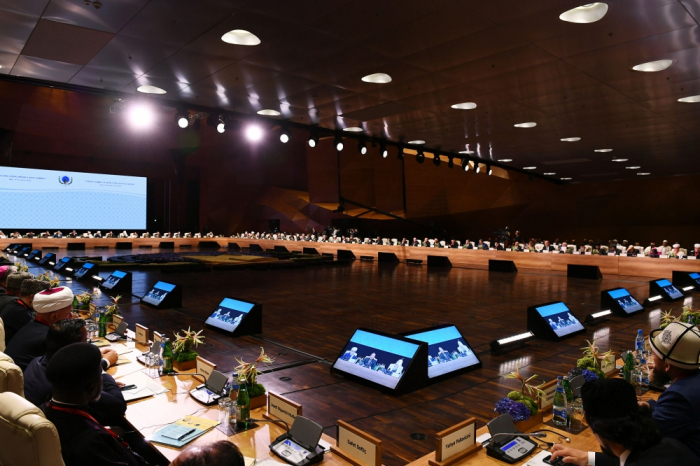 Baku Declaration of 2nd Summit of World Religious Leaders adopted