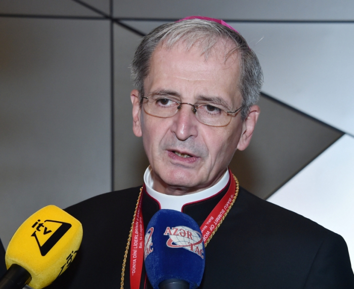 Stanislav Zvolenski:   Cumbre de Bakú contribuirá al desarrollo del diálogo y la cooperación entre las diferentes religiones y corrientes