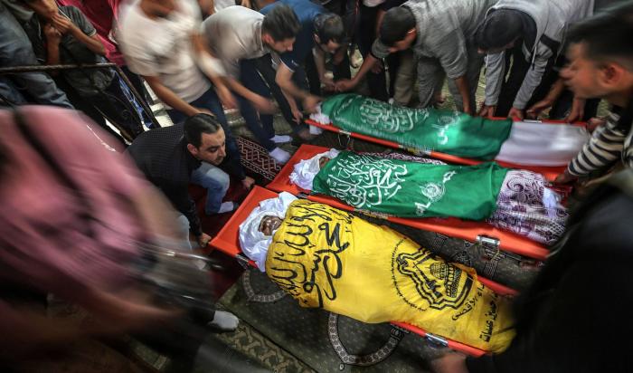 Israel bordea la guerra en Gaza con bombardeos de represalia que han causado más de 20 muertos