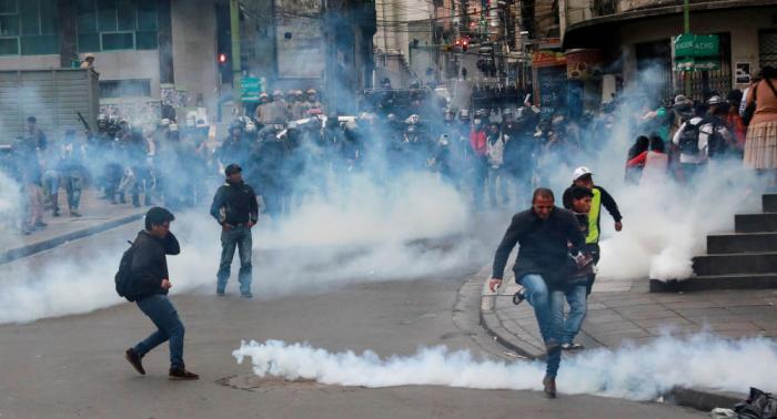 Suben a 10 los fallecidos en conflicto político en Bolivia