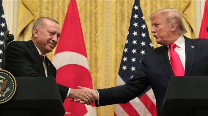 Trump says meeting with Erdogan
