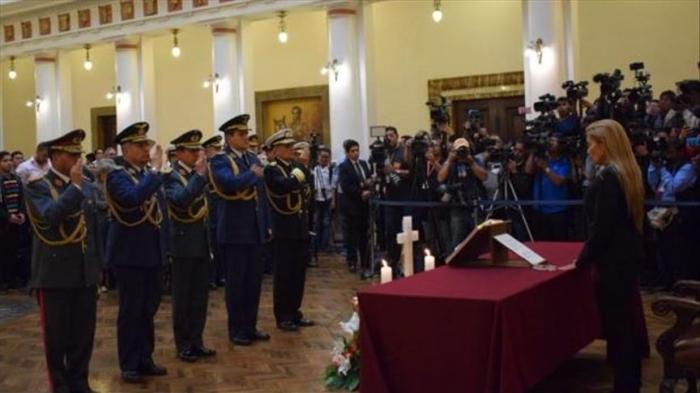 Jeanine Áñez juramentó a nuevo Alto Mando de las Fuerzas Armadas en Bolivia