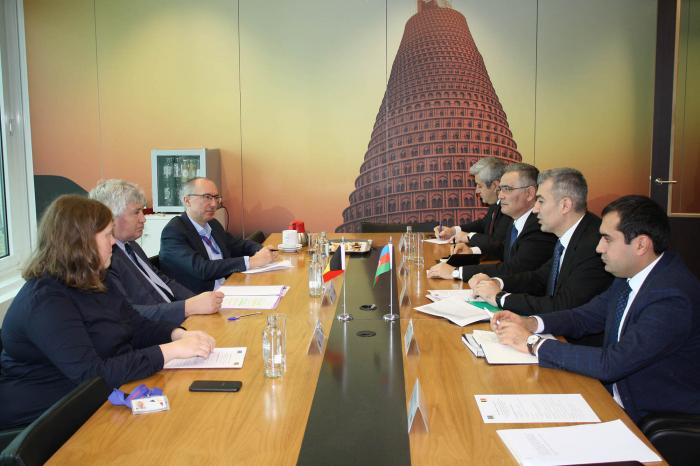 Head of Azerbaijan State Migration Service on working visit to Belgium -  PHOTO