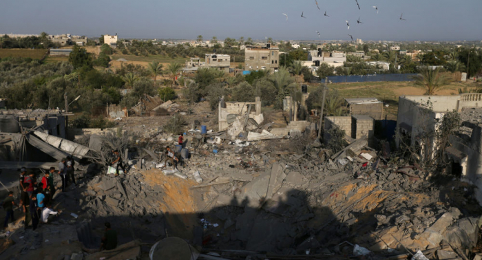 Sube el número de palestinos muertos por ataques israelíes contra la Franja de Gaza