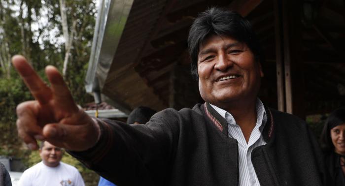 Evo Morales llama a la ONU, Europa y la Iglesia Católica a facilitar el diálogo en Bolivia
