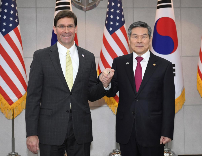 South Korea, U.S. defense chiefs reaffirm commitment to defend against North Korea